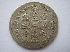 1683 Sixpence, Vf. Acs