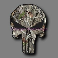 "Yeti Foliage Camouflage Punisher 2.75"" Phone Yeti Decal Sticker"