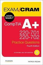 CompTIA A+ 220-701 and 220-702 Practice Questions Exam Cram (4th Edition), Regan