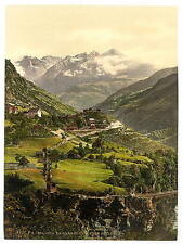 Stalden Valais Alps Of A4 Photo Print
