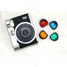 4Colours/set #S Effects Close Up Lens Filters for Fujifilm Instax mini 90 Camera