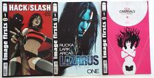3  Image Firsts Comics   HACK/SLASH   LAZARUS ONE   SEX CRIMINALS