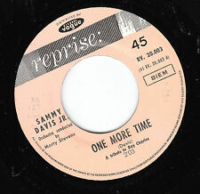 "7"" 45 TOURS JUKEBOX FRANCE SAMMY DAVIS JR ""One More Time +1"" 1963"