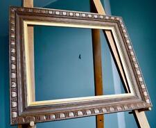 Fine Lrg Antique Edwardian Carved Oak Picture Frame v Art Nouveau Deco 50X40CM*R