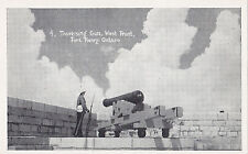 Traversing Gun West Front FORT HENRY Kingston Ontario Canada Management Postcard