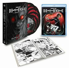 Death Note: The Omega Edition New 6 Disc Blu-ray Set.