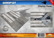 Escala 1:72 de base de visualización de pista
