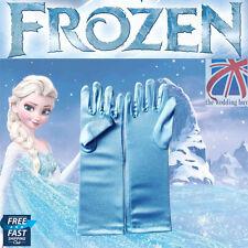 UK Reine Des Neiges Elsa Princesse Gants Satin Déguisement Fille Cosplay Jouet