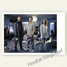 Being Human con Aidan Turner, Russell Tovey, Lenora Crichlow autografo foto