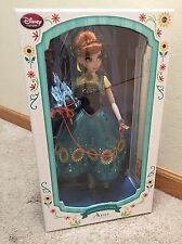 Disney Store Limited Edition Frozen Fever Surprise Birthday Anna Doll 17""