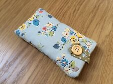 Cath Kidston Blue Woodland Rose Fabric - Padded Case for iPhone 6 / 6 Plus