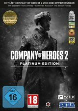 Company of Heroes 2 Platinum Edition Incl estensioni NUOVO