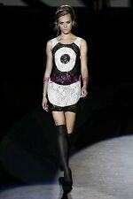 Brand New With Tag $365 LAMB Gwen Stefani Bullseye Shift Dress Size 12