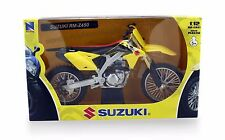 NewRay Dirt Bike 2014 Suzuki RM-Z450 Motorcycle 1:12 scale diecast model N42