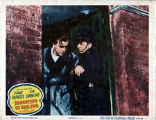 "Vintage ""Footsteps In The Fog"" Original Lobby Card, 1955, 11X14- Jean Simmons"