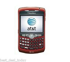 Blackberry Curve 8310 Unlocked AT&T T-Mobile Phone Red