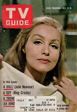 1964 TV Guide December 12 - Julie Newmar; Wendy and Me; Sherry Alberoni;B Crosby