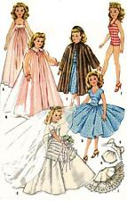 Vintage Doll Clothes PATTERN 2162 for 12 in Revlon Cindy Missy Sweet Sue