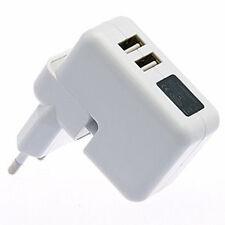 Chargeur Adaptateur prise Secteur Double USB pour iPad iPhone iPod 5V/2.1A et 1A