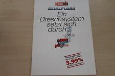 157645) Case IH Axial-Fluß Mähdrescher Prospekt 1991
