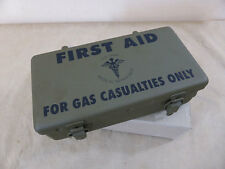 US Army First Aid Kit Box for gas casualties cassetta del pronto soccorso JEEP Motor Vehicle