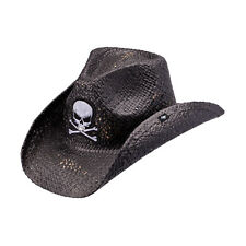 Peter Grimm Men's Keith Rolling Stone Drifter Cowboy Hat One Size Black