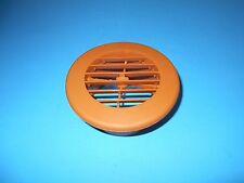 "*D W REGISTER ROUND 4"" DIRECTIONAL BROWN VENT RV"