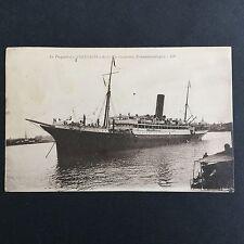 CPA Paquebot Volubilis Compagnie Générale Transatlantique 1925