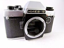 KIEV 19 Russian SLR camera USSR 1992 Nikon mount BODY Case Rare Soviet GOOD COND