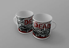The Walking Dead mug comic book zombie cup