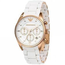 NEW Women's Watches Emporio Armani AR5920 Sport Style Chronograph Date Display