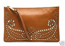 Michael Kors bolso/Clutch/Bag Rhea studded Leather large ZIP luggage! nuevo!