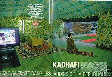 Coupure de Presse Clipping 2007 (8 pages) Kadhafi
