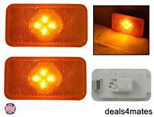 2 PZ 4 LED LATO INDICATORE AMBER luci lampade specifiche fit for VOLVO fh-fm-fl
