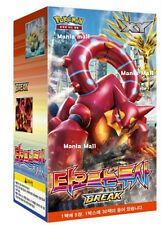 "Pokemon cards XY BREAK ""Explosive Fighter"" Booster Box (30 pack) / Korean Ver"