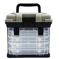 Fishing Tackle Box Lures Storage Tray Bait Case Tool Organizer Bulk Drawer