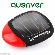 3 Mode Solar Power Bike Bicycle Rear Flashing Tail LED Safety Warning Lamp Light
