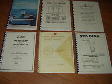 OMC*ESKA*SEA KING*JOHNSON*WITH BINDING~ CHOOSE ONE REPAIR MANUAL 1956-1984