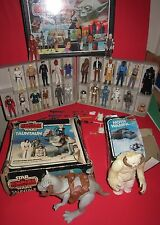 Star Wars Vintage Action Figures Weapons Case Wampa Taun Taun Kenner Collection