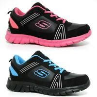 Ladies Running Trainers Boys Girls Shock Absorbing Fitness Gym Sports Shoes Size