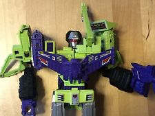 Transformers G1 1985 vintage DEVASTATOR complete all CRAZY DEVY upgrade parts