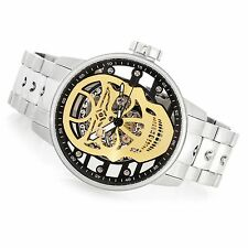 """NEW Invicta Men's 48mm S1 Rally """"Skull"""" Mechanical Skeletonized Dial Watch 22928"""
