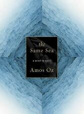 The Same Sea by Amos Oz (2001, Hardcover) SIGNED