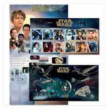 Star Wars The Force despierta Royal Mail 18 Sellos presentationpack issue20.10.15