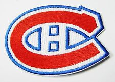 LOT OF (1) HOCKEY MONTREAL CANADIENS EMBROIDERED PATCH  APPROX: 3 3/8 ITEM # 85