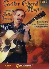 Artie Traum Guitar Chord Magic Lesson 2 Learn to Play Blues Jazz Music DVD