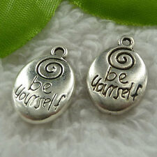 Free Ship 100 pieces tibet silver nice charms 20x14mm #1196