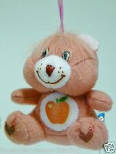 PLUSH CARE BEARS SMART HEART BEAR MOBILE/CELL PHONE STRAP/KEYRING/bag charm