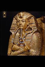 503014 effigie dorée du Musée égyptien du roi Toutankhamon Caire A4 Photo Print