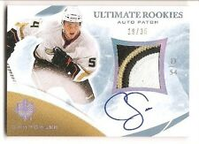 Cam Fowler 2010-11 Upper Deck Ultimate Rookies Auto 3-color Patch 19/35